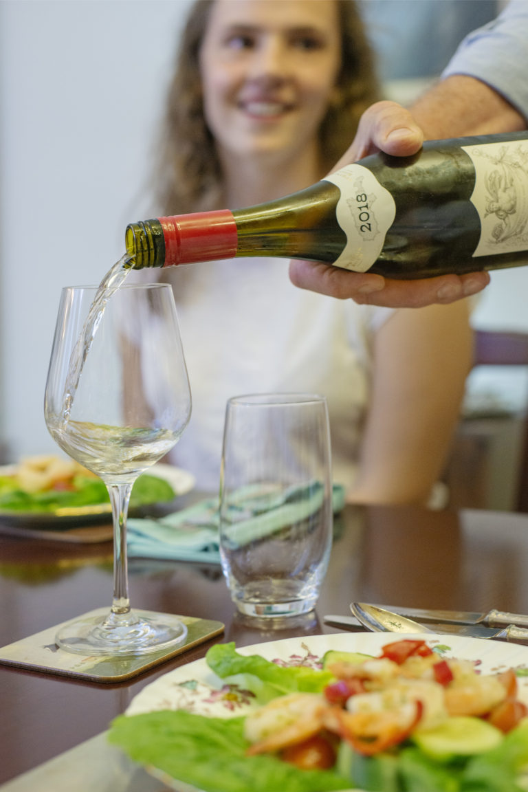 Oceanview Eco Villas guests are treated to the best of local Kangaroo Island food and wine