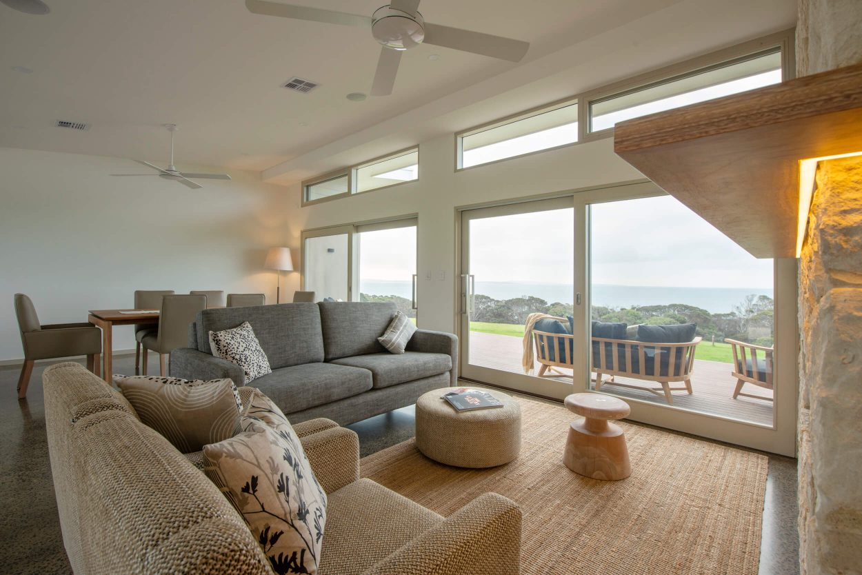 Oceanview Eco Villas, Kangaroo Island Living Area